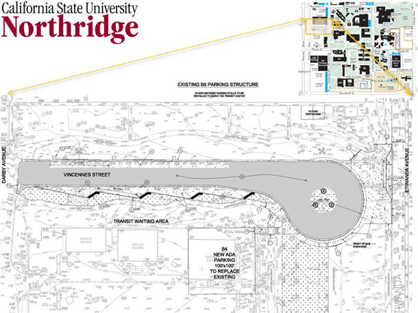 CSUN Transit Station Opens – Northridge West Neighborhood ...